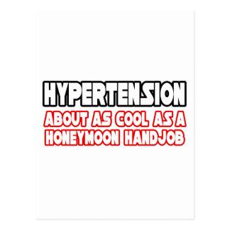 Hypertension...Not Cool Postcard