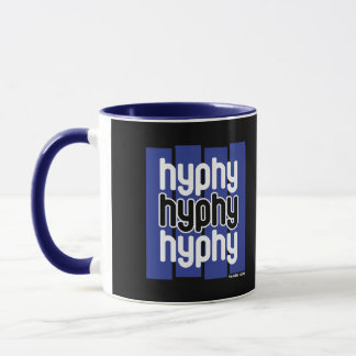Hyphy Blue Mug