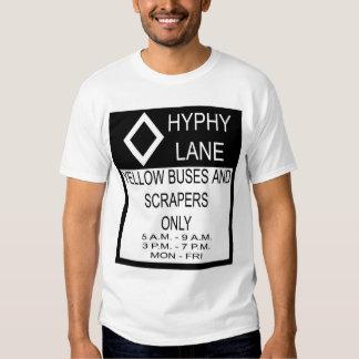 Hyphy Lane Tee Shirt