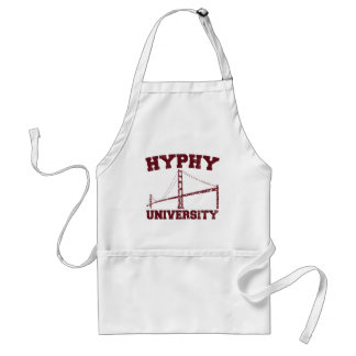 Hyphy University yay area Adult Apron