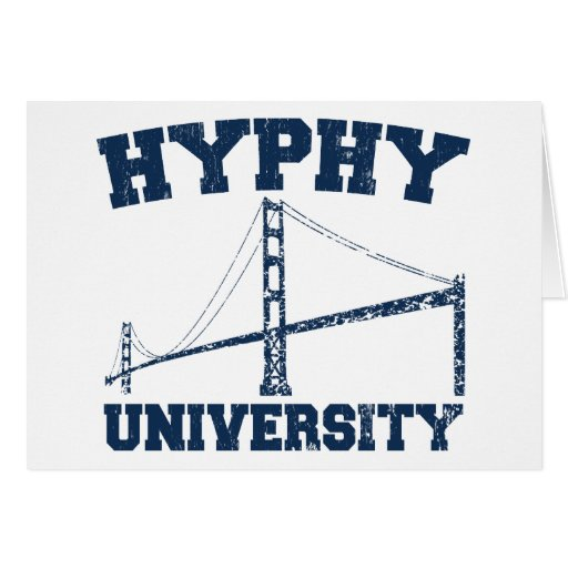 Hyphy University yay area Greeting Cards