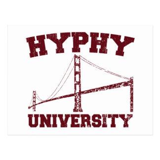 Hyphy University yay area Postcard
