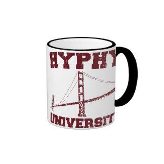 Hyphy University yay area Ringer Coffee Mug