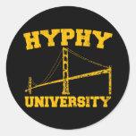 Hyphy University yay area Sticker