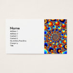 Hypn0sis - Fractal Art Business Card