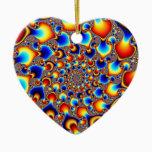Hypn0sis - Fractal Art Ceramic Ornament