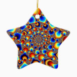 Hypn0sis - Fractal Art Ceramic Ornament