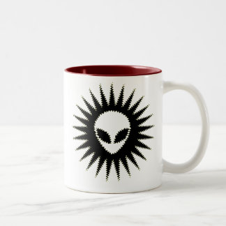 Hypno- Alien Two-Tone Coffee Mug