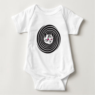 Hypno-Cat Baby Bodysuit