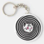 Hypno-Gato Llavero Personalizado