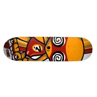 Hypno Mascot Custom Skateboard