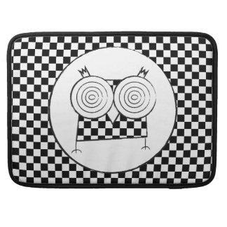 Hypno Owl Macbook Pro Sleeve For MacBooks