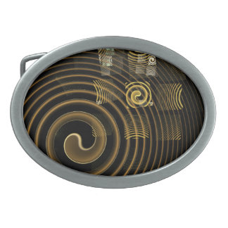 Hypnosis Abstract Art Belt Buckle