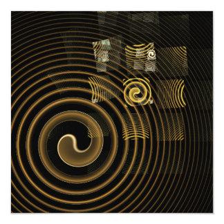 Hypnosis Abstract Art Card