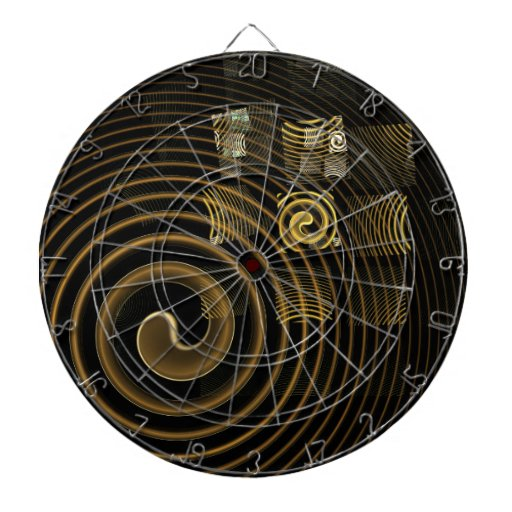 Hypnosis Abstract Art Dartboards