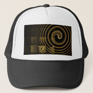 Hypnosis Abstract Art Hat