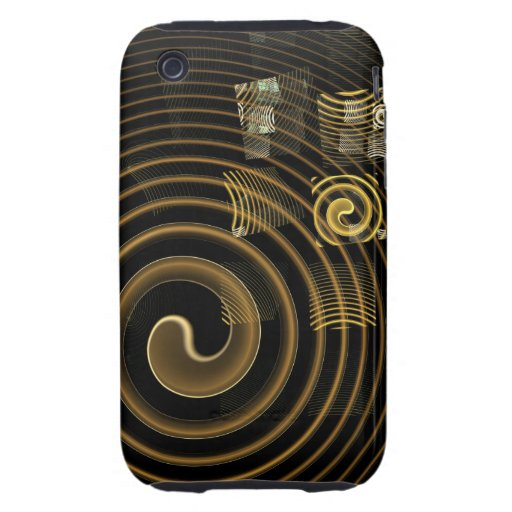 Hypnosis Abstract Art iPhone 3G / 3GS iPhone 3 Tough Case