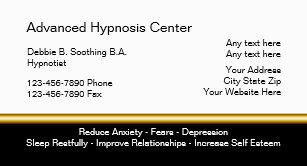 Hypnotist Business Cards Zazzle
