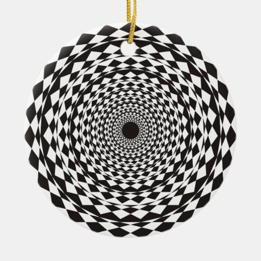 Hypnosis Christmas Tree Ornaments