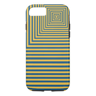 Hypnosis Meditation Focal Point Blue and yellow iPhone 7 Case