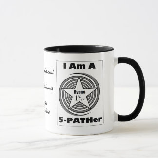 Hypnosis Mug for 5-PATH 1%ers (Black and White)