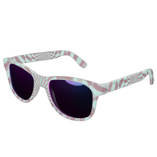 Hypnosis seamless grunge Pattern + your ideas Sunglasses