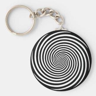 Hypnosis Spiral Keychain