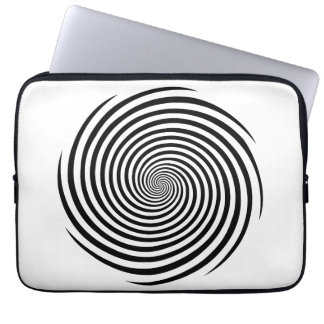 Hypnosis Spiral Laptop Sleeve