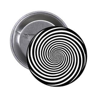 Hypnosis Spiral Pinback Button