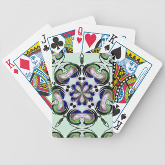 Hypnotic Abstract Color Playing Cards