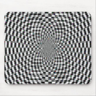 Hypnotic Ascii Art Mouse Pad