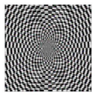 Hypnotic Ascii Art Poster