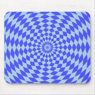Hypnotic Blue Mousepad