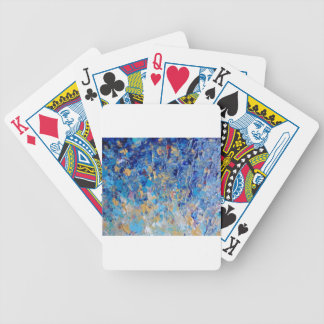 HYPNOTIC BLUE SUNSET BICYCLE PLAYING CARDS