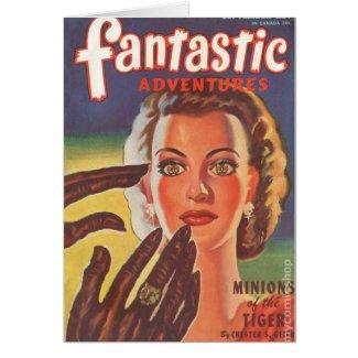 Hypnotic Brunette Card