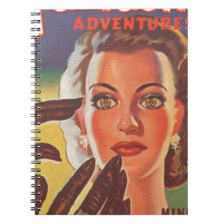 Hypnotic Brunette Notebook