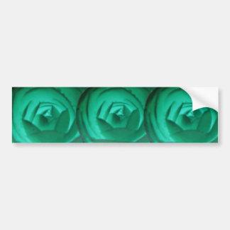 Hypnotic Camellia Flower Bumper Sticker Car Bumper Sticker