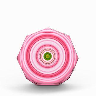 Hypnotic Circle Fuchsia Green Award