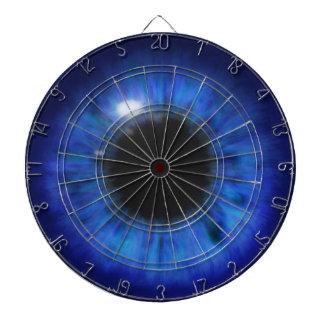 Hypnotic Deep Blue eyes Dartboards
