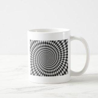 HYPNOTIC DESIGN COFFEE MUG