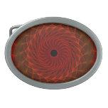 Hypnotic Eye - Flame Oval Belt Buckles