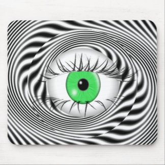 HYPNOTIC EYE - HYPNOTIST MOUSE PAD