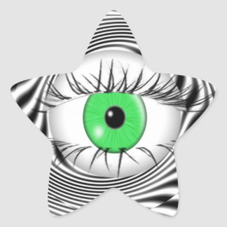 HYPNOTIC EYE - HYPNOTIST STAR STICKER