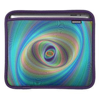 Hypnotic eye iPad sleeve