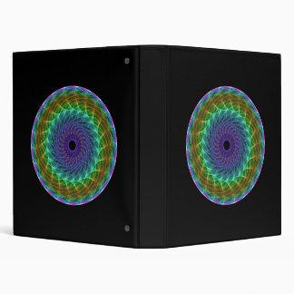 Hypnotic Eye - Rainbow Binder