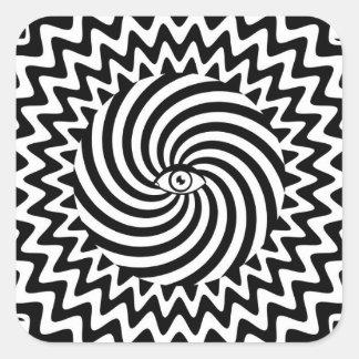 Hypnotic eye sticker