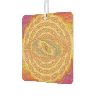 Hypnotic Eyes of the Sun Car Air Freshener
