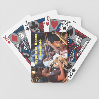 Hypnotic Fan Fare Bicycle Playing Cards