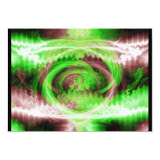 Hypnotic Fractal Card