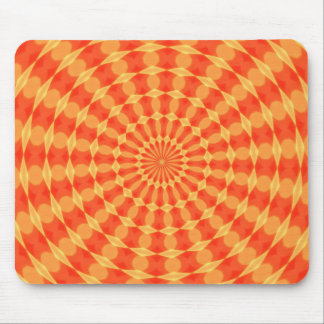 Hypnotic Kaleidoscope Mouse Pad